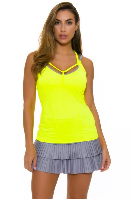 Lucky In Love Women's Love Not War Double Pleat Tennis Skirt
