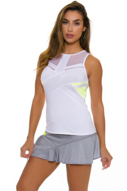Lucky In Love Women's Love Not War Ace Symmetrical Tennis Skirt