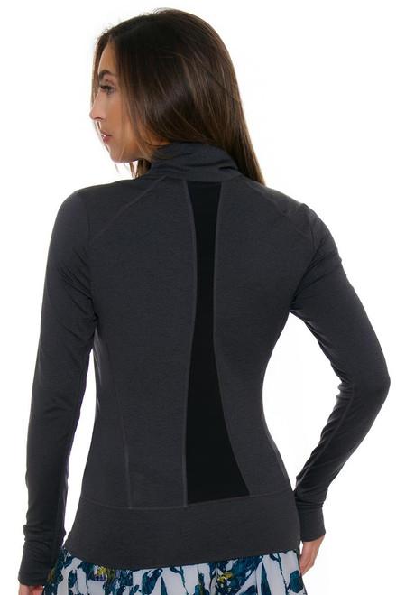 Lole Women's Essential Up Black Heather Jacket