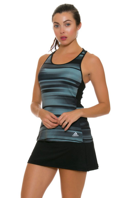 Adidas Women's Advantage Black Tennis Skirt A-BK0646 Image 1