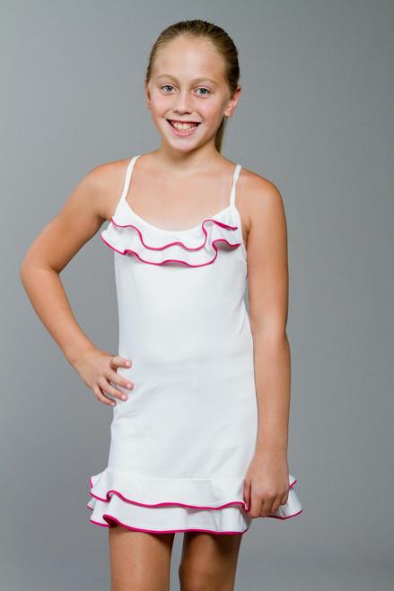 Mia Girls Cross Strap Tennis Dress TLT-KC0807-0012 Image 4