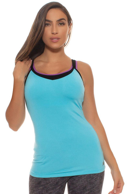 Studio Cami Tank Top NB-WT53453-Workout Image 3