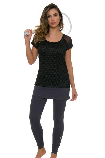 Sofibella Grey Tennis Skirt Leggings