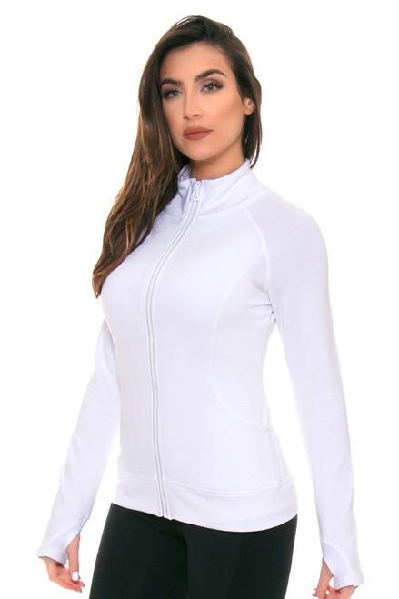 Tonic White Escentia Jacket