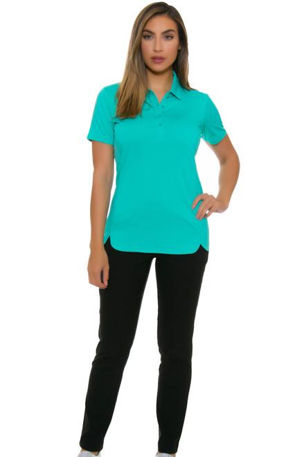 EP Pro NY Women's Basics Black Bi-Stretch Slim Ankle Golf Pants