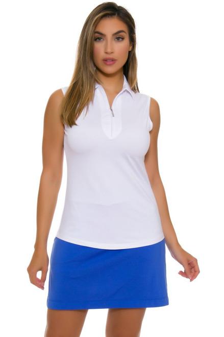 EP Women's Basics Sail Blue Knit Pull On Golf Skort