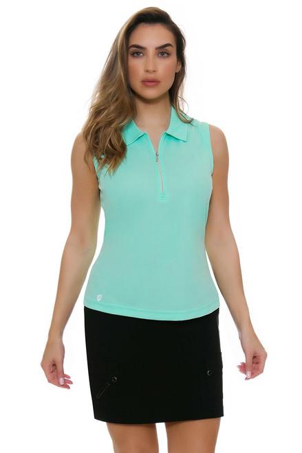 Jamie Sadock Women's Basics Skinnylicious Black Pull On Golf Skort