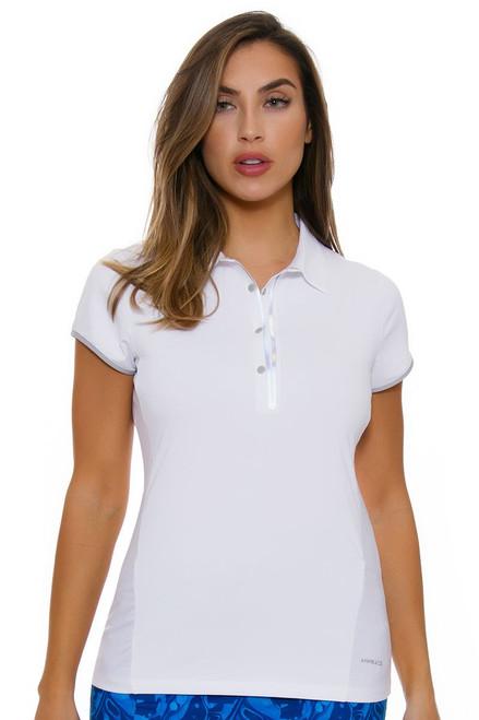 Annika Women's Warrior Cap Sleeve Competitor Golf Polo