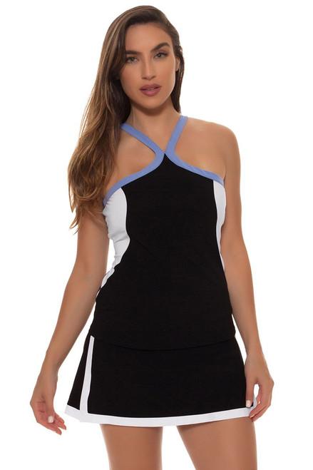 FILA Women's Black Tennis Skirt - Image 1