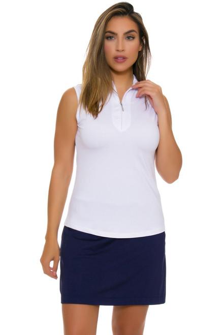 EP Pro NY Women's Basics Batik Blue Knit Pull On Golf Skort