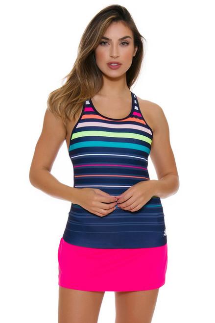 New Balance Women's US Open Casino Tennis Skirt