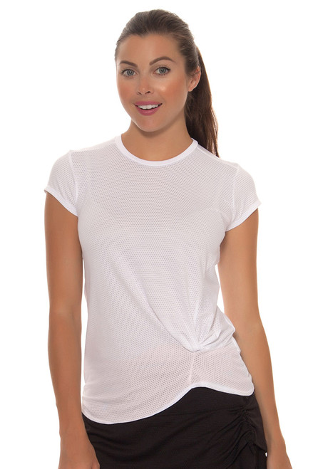 Do The Twist White Crew Shirt