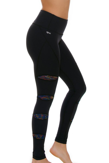 Tonic Active Women's Kaleidoscope Lakotta Workout Leggings