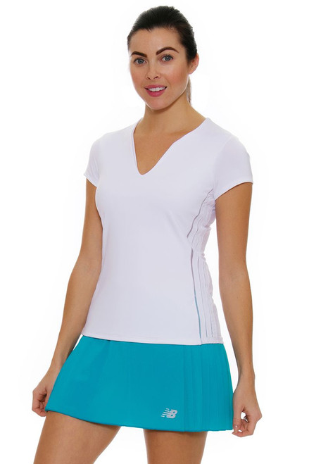 New Balance Women's Pleated Tournament Tennis Skirt
