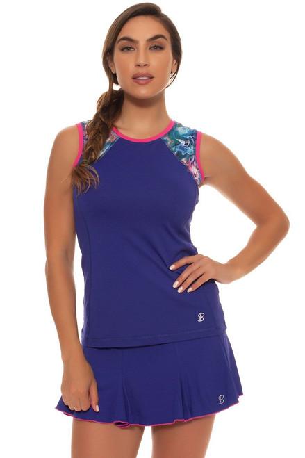 "Sofibella Women's Aruba Flounce Hem 13"" Tennis Skirt"