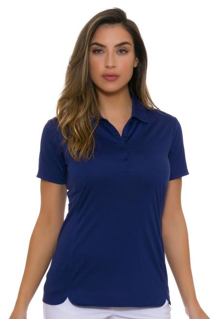 EP Pro NY Women's Basics Inky Performance Jersey Golf Short Sleeve Polo
