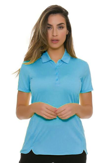 EP Pro NY Women's Basics Aquaduct Performance Jersey Golf Short Sleeve Polo