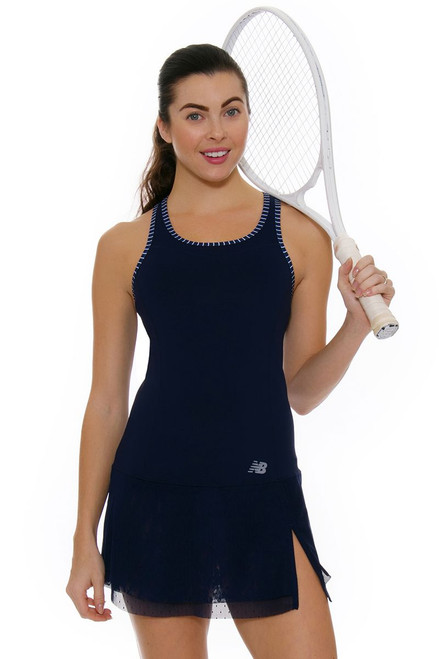 New Balance Women's Oz Open Tournament Tennis Dress NB-WD73407-PIW Image 1