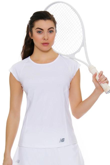 New Balance Women's Oz Open Somerset Tennis Cap Sleeve
