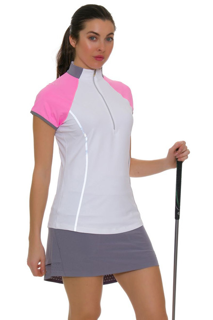 Annika Women's Eclipse Zinc Competitor Pull On Golf Skort
