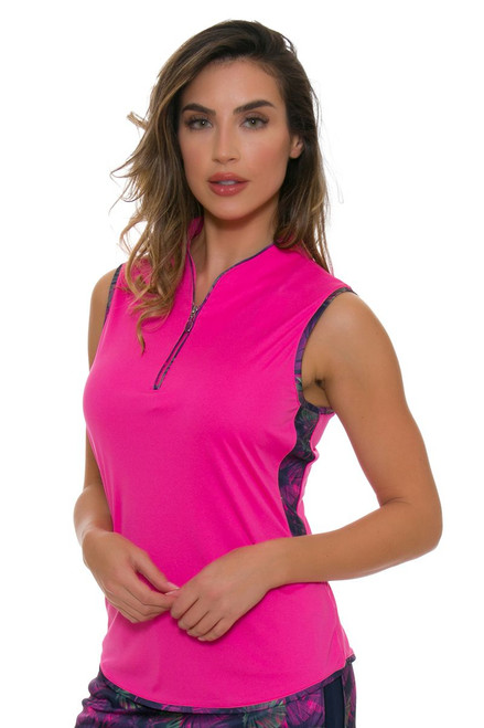 Greg Norman Women's Royal Palm Caliente Golf Sleeveless Shirt