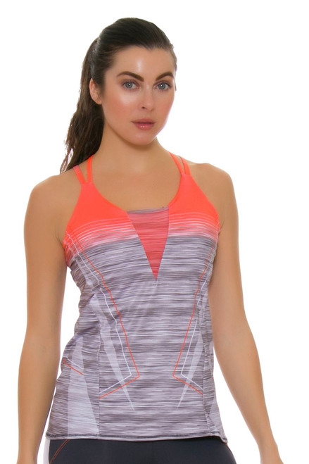 Lucky In Love Women's Spaced Out Tennis Cami With Bra
