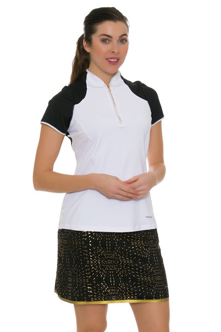 Annika Women's Prize Passion Printed Pull On Golf Skort