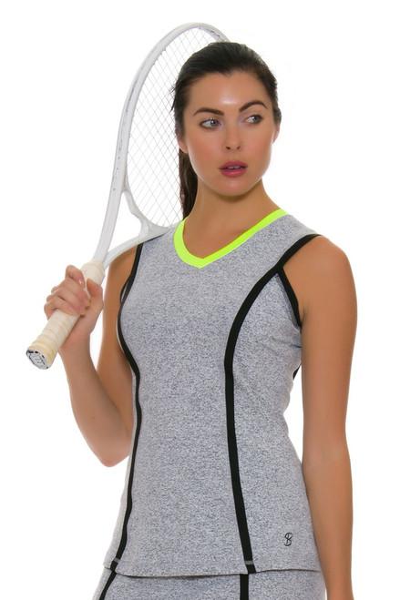 Sofibella Women's Paris Banded Tennis Tank