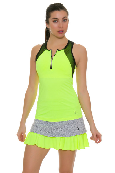 "Sofibella Women's Paris Love 14"" Tennis Skirt"