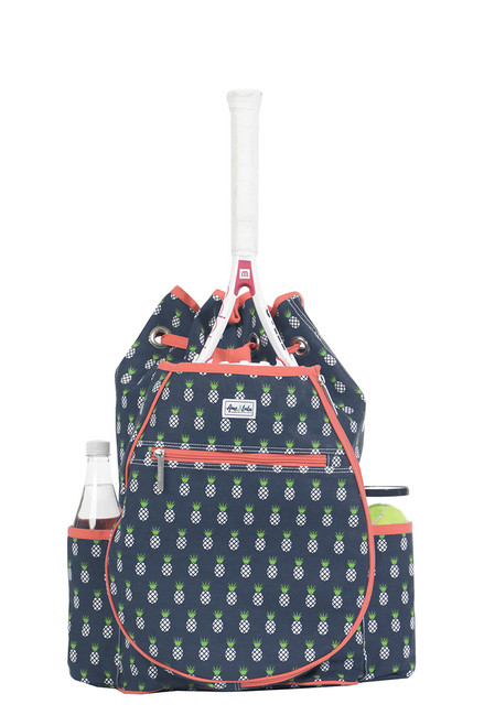Ame & Lulu Women's Kingsley Pineapple Tennis Backpack