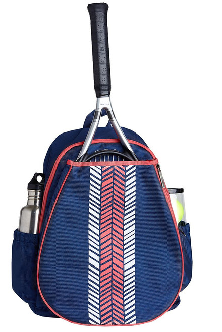 Ame & Lulu Women's Love All Pink Tennis Backpack