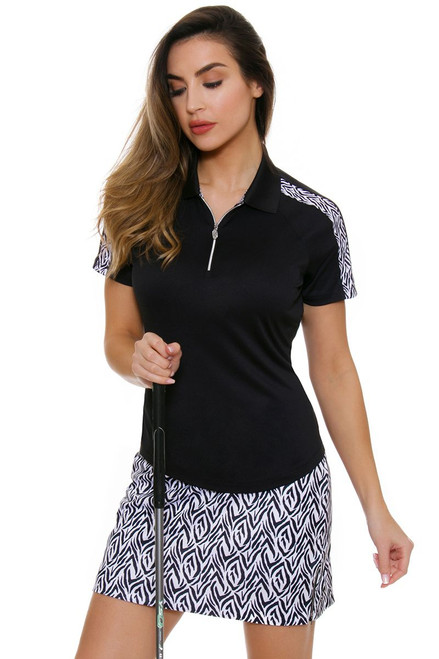 Greg Norman Women's Jungleland Empire Tiger Pull On Golf Skort