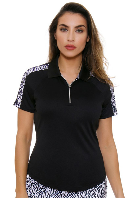 Greg Norman Women's Jungleland ML75 Catarina Golf Polo Shirt
