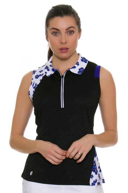 GGBlue Women's Defined April Golf Sleeveless Shirt