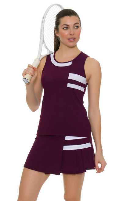 Tonic Active Women's Imperial Niroh Tennis Skirt TO-8112-118-Imperial image 1