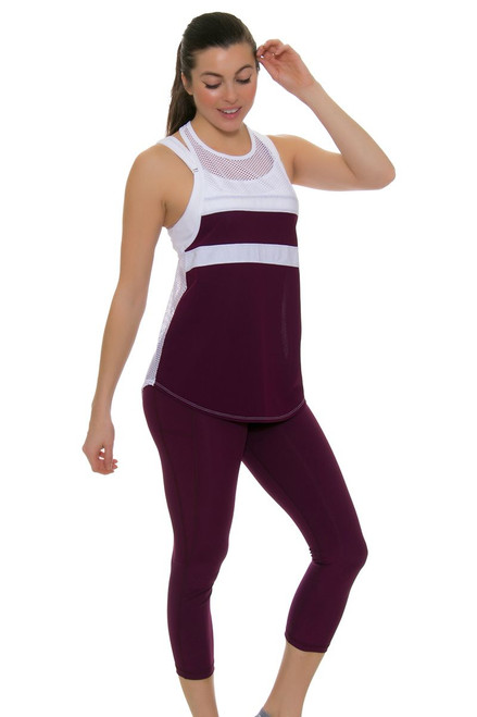 Tonic Active Women's Imperial Symia Crop Workout Leggings TO-6071-118 Image 1
