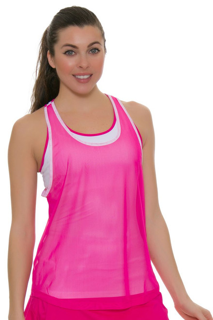 Fila Women's Sweetspot Layered Racerback Tennis Tank
