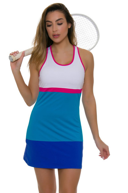 Fila Women's Sweetspot Colorblocked Tennis Dress