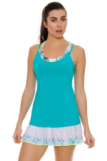 Lucky In Love Women's Haviana Pleat Tennis Skirt