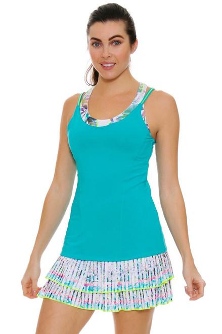 Lucky In Love Women's Haviana Long Cruise Line Tennis Skirt