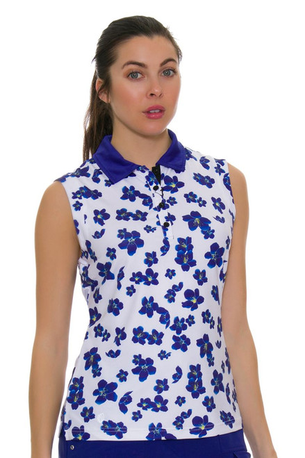 GGBlue Women's Defined Holly Golf Sleeveless Shirt
