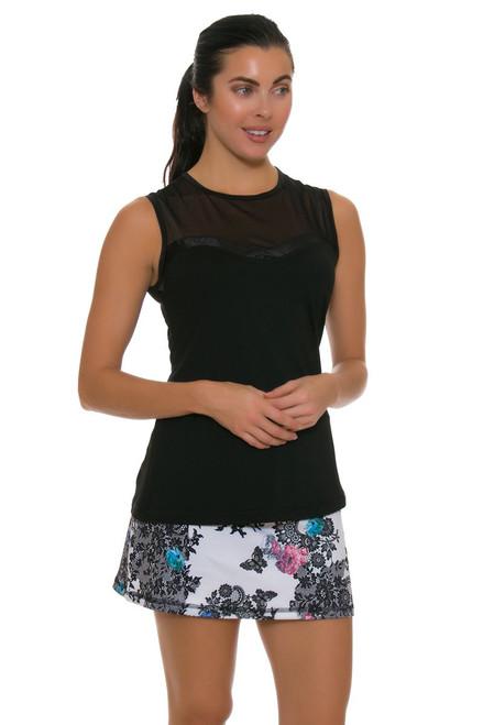 "Sofibella Women's Venice Lace Print 14"" Tennis Skirt"