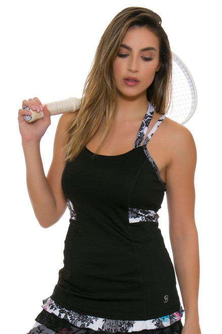 Sofibella Women's Venice Lovely Halter Tennis Tank