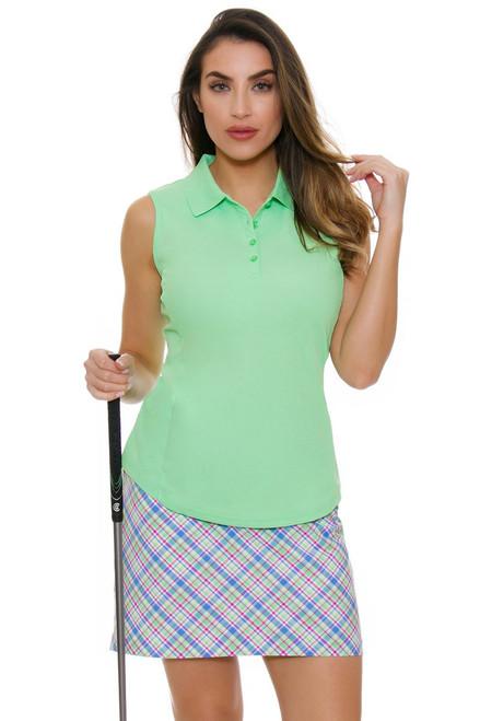 Greg Norman Women's Essentials Preppy Plaid Golf Skort
