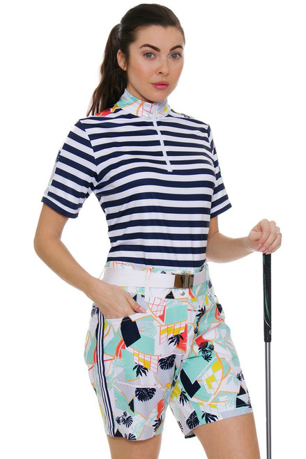 "GGBlue Women's Unify 17"" Bunker Golf Shorts"