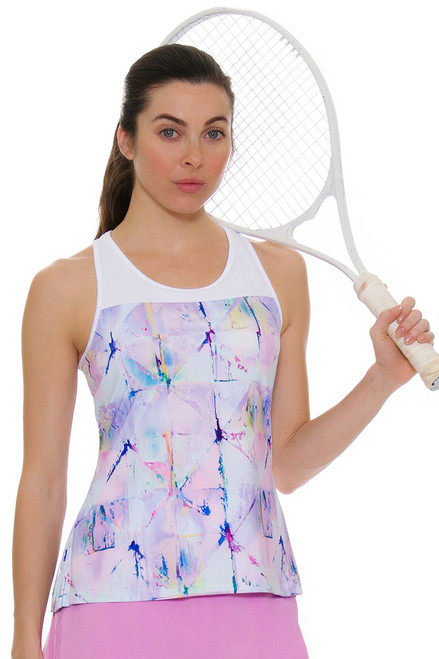 Fila Women's Elite Pleated Back Tennis Tank