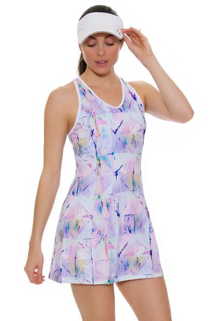 Fila Women's Elite Electric Print Tennis Dress