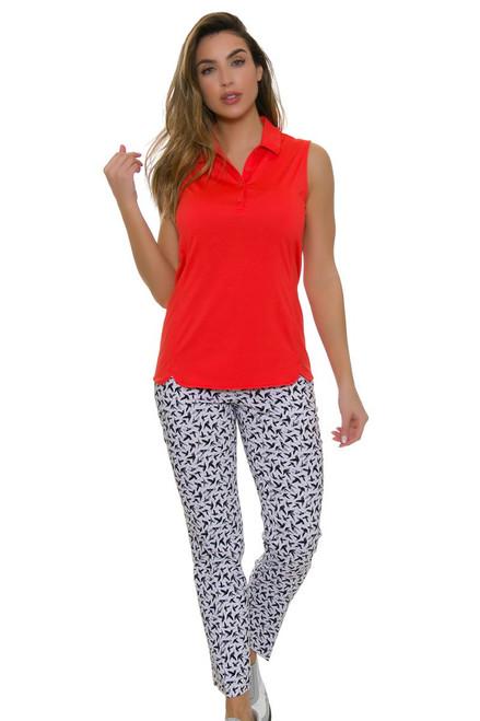 Swing Control Women's Paradise Birdie Master Golf Ankle Pants SWC-M4021SW Image 1