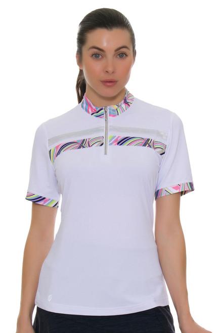 GGBlue Women's Inspire Nova Golf Short Sleeve Shirt