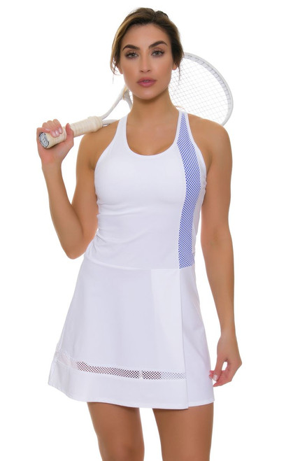 Tonic Active Women's Monarch White Serang Tennis Dress